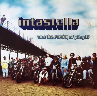 Intastella - Intastella And The Family Of People (LP) (G-VG/VG-)
